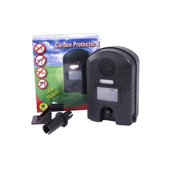 CATS DOGS Ultrasonic Garden Protector with Flash Cats Dogs